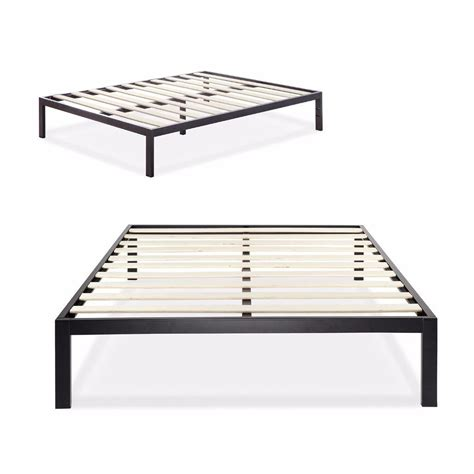 metal bed frame twin zinus 3000 metal platform bed frame twin ebay