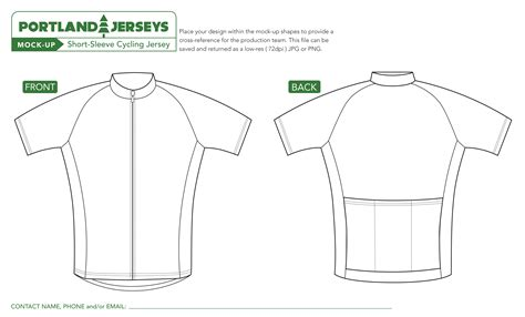 Cycling Jersey Template Pdf Image001 Templates Collections Mtb Jersey Design Template
