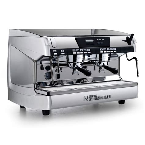Coffee Machine Simonelli nuova simonelli espresso machine aurelia ii volumetric 2