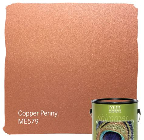 is the me579 copper metallic paint exterior