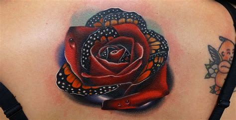 morph rose tattoos by andres acosta nr studios