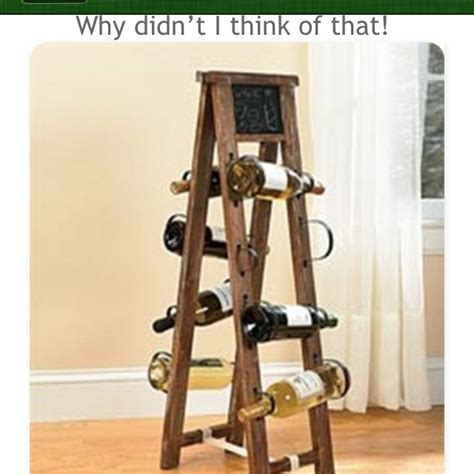 Why Rack Wine by Ladder Wine Rack For The Home