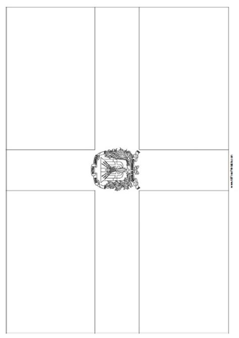 dominican republic flag coloring page free printable