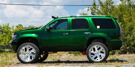chevy green kandy green chevy tahoe