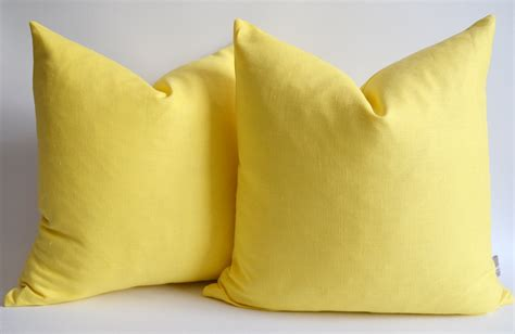 Yellow Pillows For Sofa Yellow Pillows For Sofa 11 Sizes Available One Grey Or Yellow Mix And Match By Pillomatic Thesofa