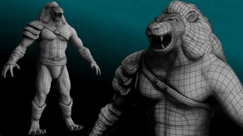 zbrush tutorial animation 3d character creation retopologizing for animation