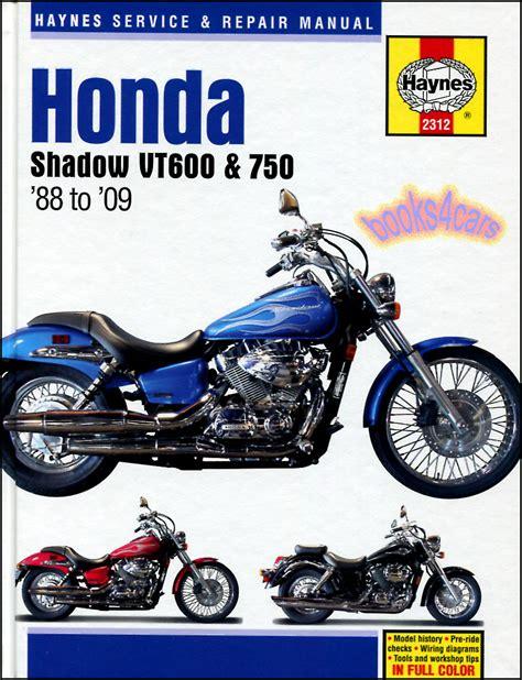 books on how cars work 1988 honda cr x windshield wipe control shop manual shadow service repair honda haynes vt600 vt750 book chilton ebay