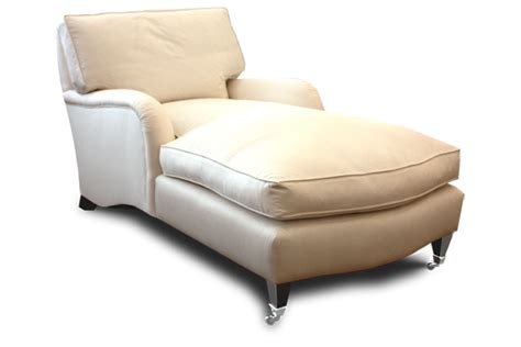 Upholstered Chaise Lounge Chairs by St Marks Upholstered Chaise Lounge