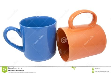 tea and coffee mugs mugs for coffee or tea stock image image 36729071