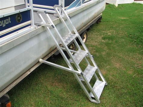 dog boat ladder diy homemade dog boat ladder homemade ftempo