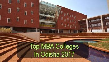 Best Part Time Mba Colleges In India by Top Mba Colleges In Odisha 2017 List Rating