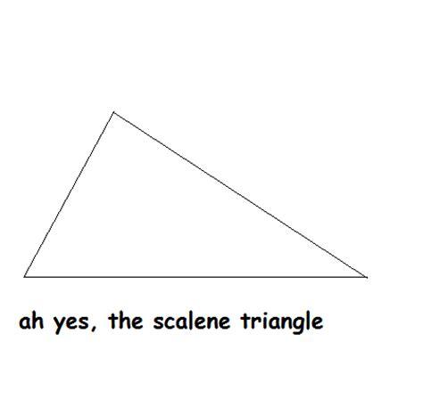 Scalene Triangle Meme - the scalene triangle by scalenetriangleplz on deviantart