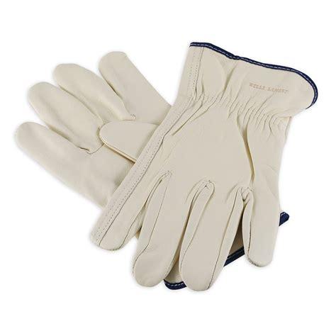 Cowhide Leather Work Gloves - lamont y0131 cowhide work gloves