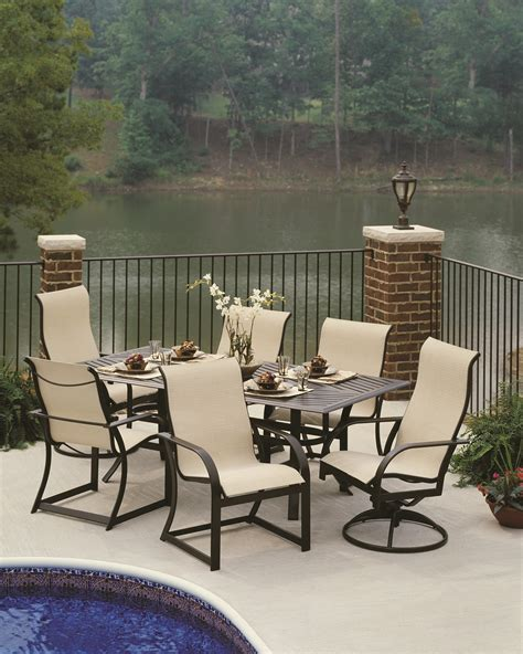 Cool Patio Tables Cool Patio Chairs Best Outdoor Beautiful Extendable Top Navy Gloss Finish Outdoor Furniture