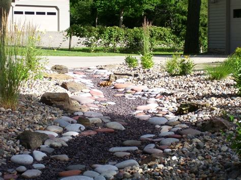 dry creek bed landscaping dry creek bed landscaping pinterest