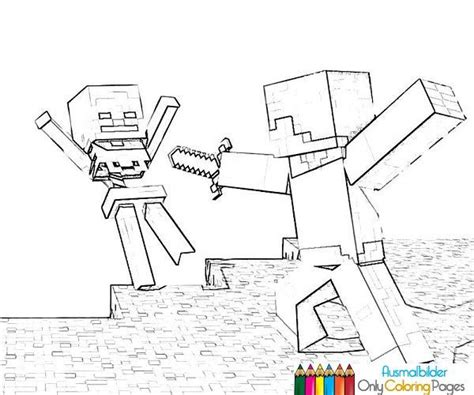 minecraft wars coloring pages minecraft ausmalbilder ausmalbilder