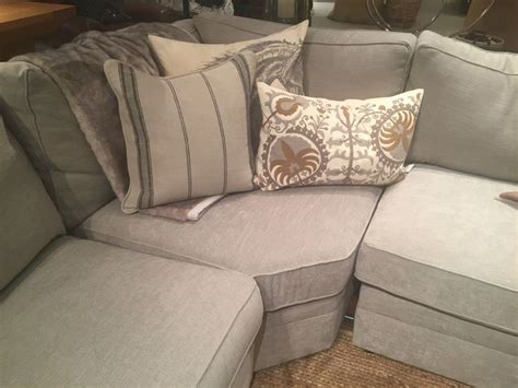 furniture that looks like pottery barn pottery barn silver taupe performance tweed really like