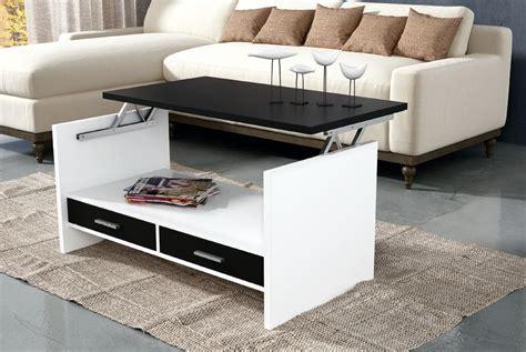 mesa centro con cajones mesa centro elevable con cajones