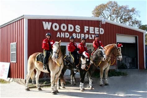 about us woods feed store