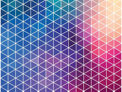 Pattern Background Powerpoint | neon pattern ppt backgrounds blue pattern red