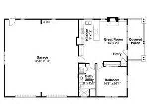 Garage Apartment Floor Plans Garage Apartment Plans 1 Story Garage Apartment Plan With 2 Car Garage 051g 0079 At Www