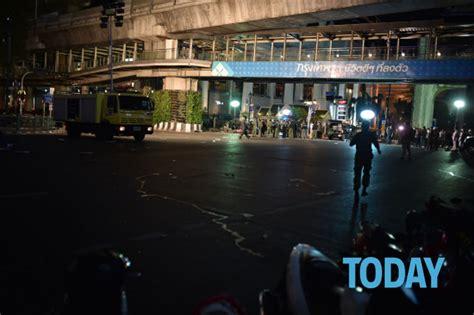 Sk Ii Di Bangkok thailandia esplosione nel centro di bangkok foto da