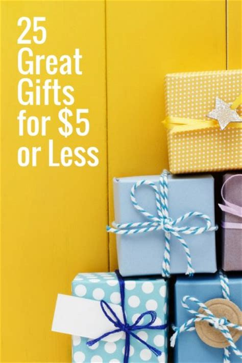 great gifts for 20 dollars 25 great gifts for 5 or less