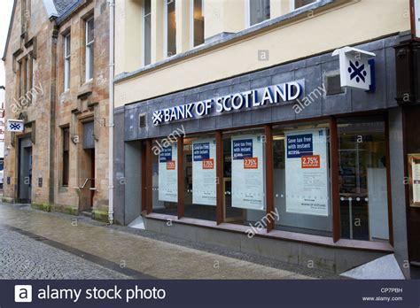 bank of scotla bank of scotland bank branch in fort william scotland uk