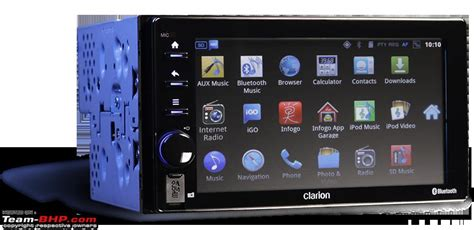Unit Clarion Ax1 clarion ax1 android based unit launched rs 56 000