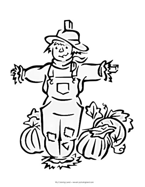easy scarecrow coloring pages scarecrow head coloring page sketch coloring page