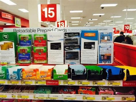 Gift Card Reload - reloadable debit cards spotted at target i m not sure this is a good thing