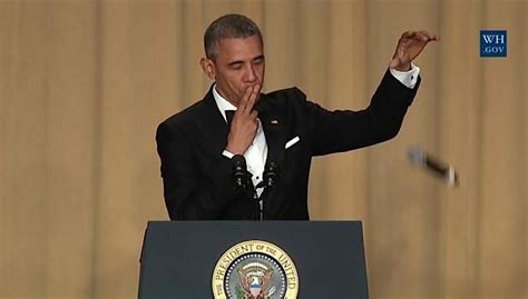 obama s comedy routine kills at white house