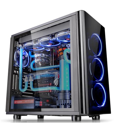 thermaltake view 31 fan controller thermaltake view 31 rgb dual tempered glass spcc atx mid