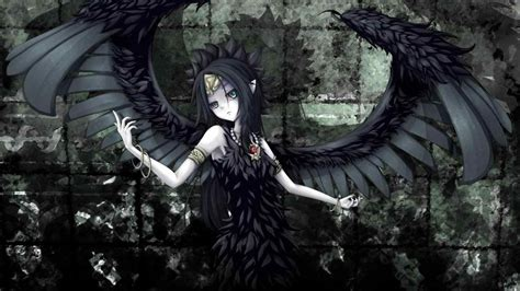 angel wallpaper abyss abyss on getcom hd anime fallen angel wallpaper on getcom