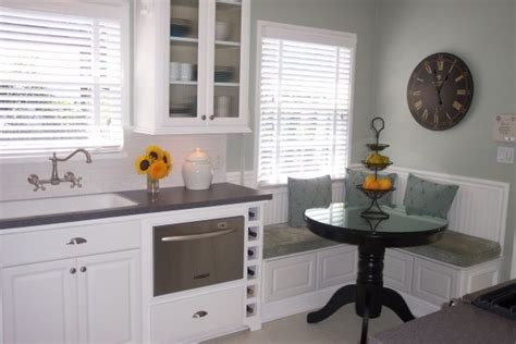 banquettes for small kitchens 1940 s cottage kitchen 1940 cottage kitchen on a budget