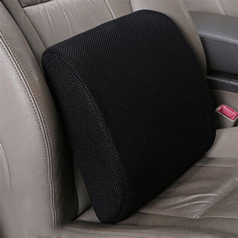 lumbar pillow for chair memory foam seat cushion lumbar back support pillow for
