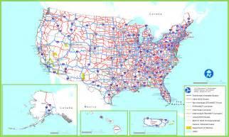 america road map pdf us interstate system map pdf wall hd 2018