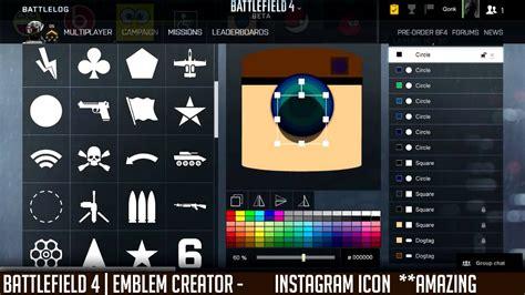 emblem maker battlefield emblems creator instagram icon amazing qonkey