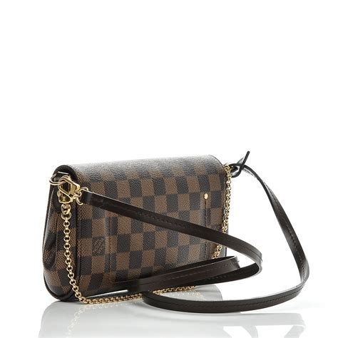 Lv Favorite Pm Ebene louis vuitton damier ebene favorite pm 184989