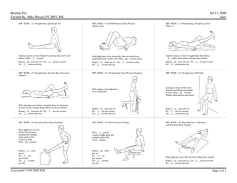 physical therapy exercises for lower back on