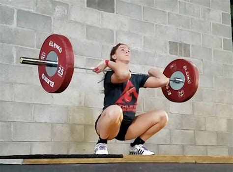 Pdf Olympic Weightlifting Complete Athletes Coaches olympic lifting for athletes power clean athletes