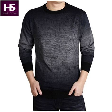 Aran Sweater Pria sweater 2016 brand clothing mens sweaters