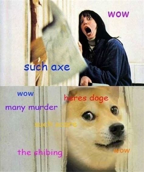 Wow Dog Meme - doge meme wow