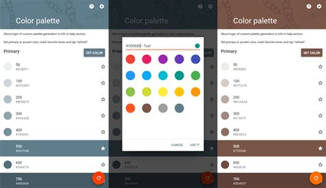 android layout online generator android how to create custom palette with custom color