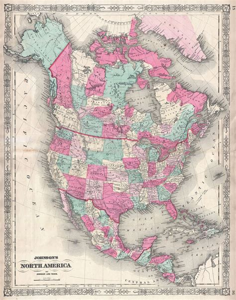 map of us canada and mexico map of us canada and mexico