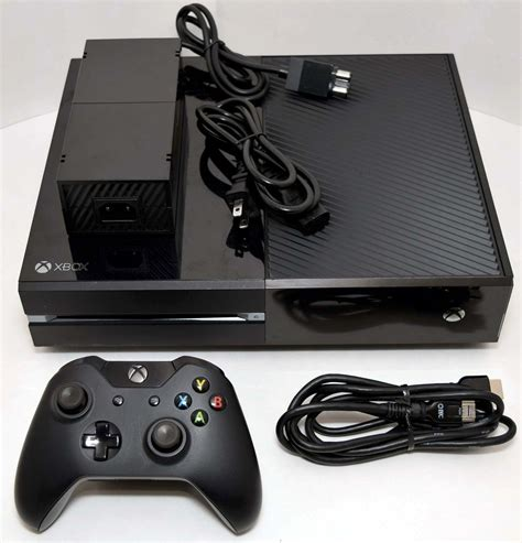 ebay xbox one console microsoft xbox one 500gb black 1540 console bundle gaming