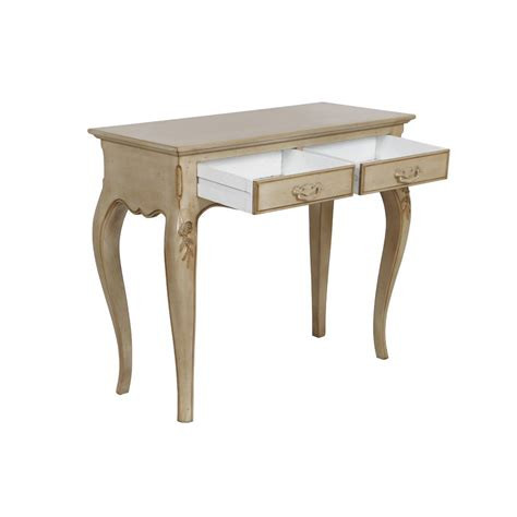 Console 2 Tiroirs by Console 2 Tiroirs Beige Interior S