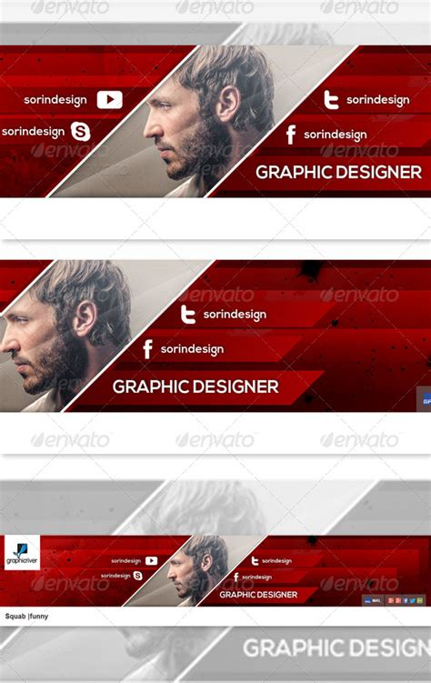 banner design template psd free download 35 amazing free youtube banner templates psd download