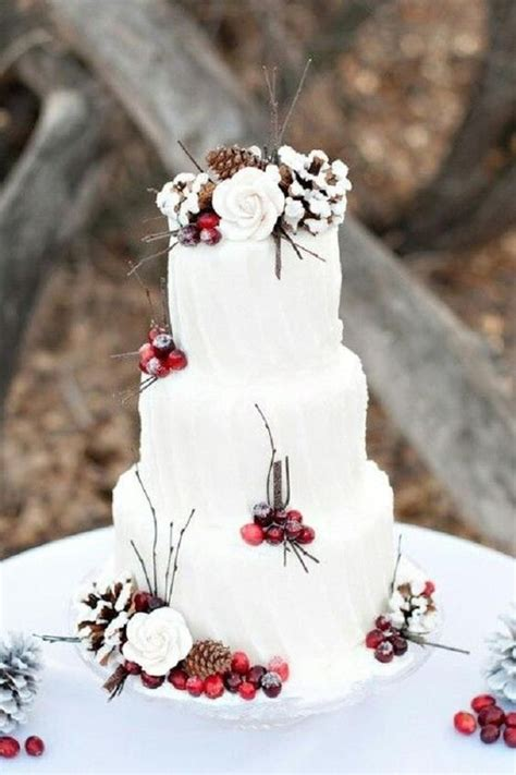 Winter Wedding Cakes by Wow Winter Wedding Cakes Fashion Trend