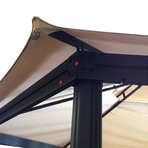 coolaroo gazebo replacement canopy for coolaroo hex gazebo